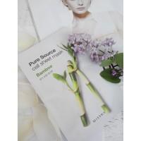 Увлажняющая тканевая маска Missha Pure Source Cell Sheet Mask Bamboo