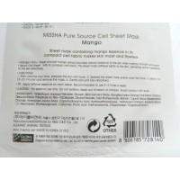 Увлажняющая тканевая маска Missha Pure Source Cell Sheet Mask Mango