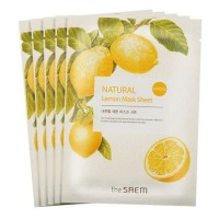 Тканевая маска The Saem Natural Mask Sheet Lemon
