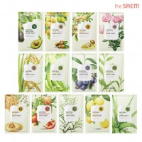 Тканевая маска The Saem Natural Gold Kiwi Mask Sheet