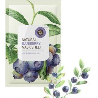 Тканевая маска The Saem Natural Blueberry Mask Sheet