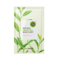 Тканевая маска The Saem Natural Green Tea Mask Sheet