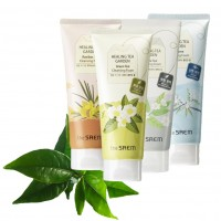 Пена для умывания The Saem Healing Tea Garden White Tea Cleansing Foam (150 мл)