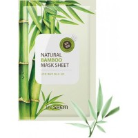 Тканевая маска The Saem Natural Bamboo Mask Sheet
