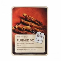 Тканевая маска Tony Moly Purenees 100 Red Ginseng Mask Sheet