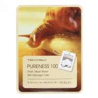 Тканевая маска Tony Moly Purenees 100 Snail Mask Sheet