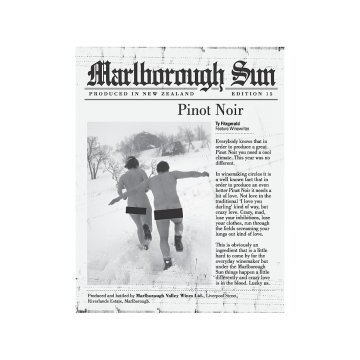 Вино Saint Clair Pinot Noir Marlborough Sun (0,75 л)