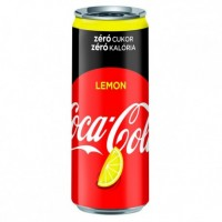 Кока-кола Зеро Лимон, 0,33 л (ж/б)