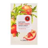 Тканевая маска The Saem Natural Pomegranate Mask Sheet