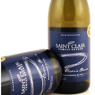 Вино Saint Clair Sauvignon Blanc Vicar's Choice (0,75 л)