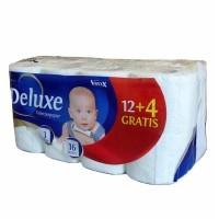Туалетная бумага Deluxe Voxxx (16 рул)