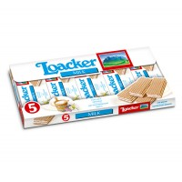 Вафли Loacker Milk/Vaniglia-Vanilla (225 г)