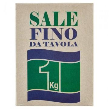 Морская соль Sale Fino Da Tavola (мелкий помол), 1 кг