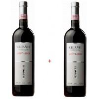 Набор вина Chianti Gentilesco (0,75 л)+ Chianti Gentilesco (0,75 л), Bonacchi
