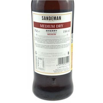 Вино Sandeman Sherry Medium Dry (0,75 л)