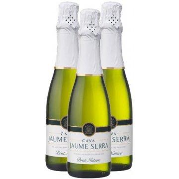 Игристое вино Jaume Serra Brut Nature (0,375 л)