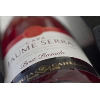 Шампанское  Cava Jaume Serra Brut Rosado (0,75 л)