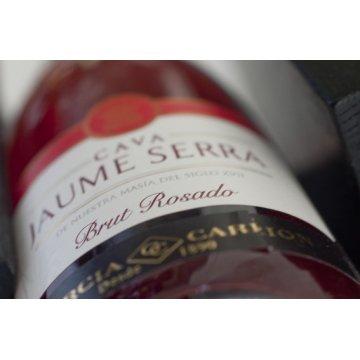 Игристое вино Cava Jaume Serra Brut Rosado (0,75 л)