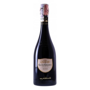 Игристое вино Cleto Chiarli Rose Brut (0,75 л)