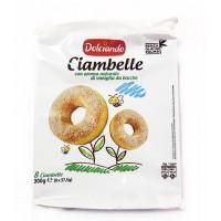 Бисквитный пончик Ciambelle, 300 г