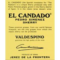 Вино Valdespino Pedro Ximinez El Candado (0,375 л)