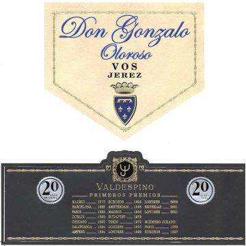 Вино Valdespino Oloroso Don Gonzalo (0,75 л)