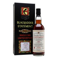 Виски Blackadder Statement Auchentoshan 24 Years Old Raw Cask, 1991 (0,7 л)
