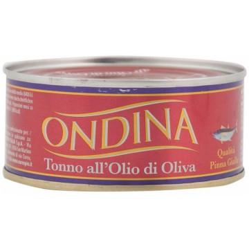 Тунец Tonno All'Olio di Oliva Qualita Pinna Gialla (80 г)