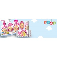 Гель-пена для душа с экстрактом масла ши Barbie (250 мл)