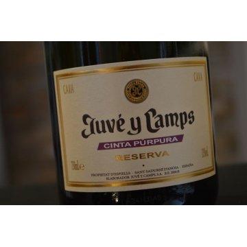 Игристое вино Juve y Camps Cinta Purpura Reserva Brut (0,75 л)