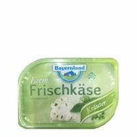 Сыр фермерский кремовый с травами Bayernland, 70% (200 г)