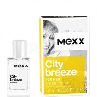 Туаленая вода Mexx City Breeze For Her, 15 мл