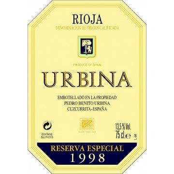 Вино Urbina Reserva Especial, 1998 (0,75 л)