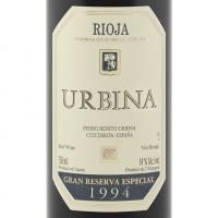 Вино Urbina Gran Reserva, 1994 (0,75 л)