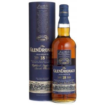 Виски GlenDronach Allardice 18 Year Old, tube (0,7 л)