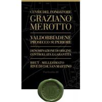 Шампанское Graziano Merotto Cuvee Del Fondatore Millesimato Prosecco Superiore Brut (0,75 л)