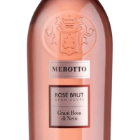 Игристое вино Merotto Grani Rosa Di Nero Rose Brut (0,75 л)