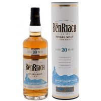 Виски BenRiach  20 year old , tube (0,7 л)