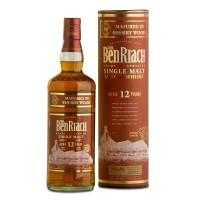 Виски BenRiach Sherry 12 Years Old, tube (0,7 л)