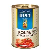 Очищенные помидоры De Cecco Polpa a Pezzettoni (400 г)