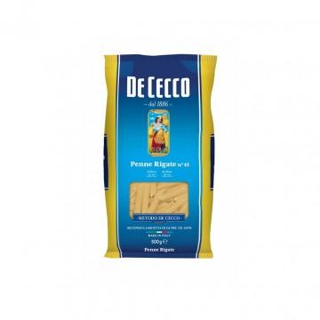 Макароны De Cecco №41 Penne Rigate (500 г)