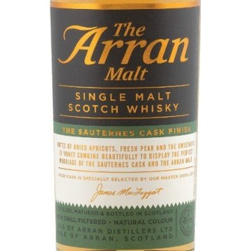 Виски Arran Sauternes Cask Finish, tube (0,7 л)