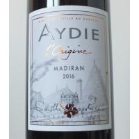 Вино Aydie l'Origine Madiran, 2016 (0,75 л)