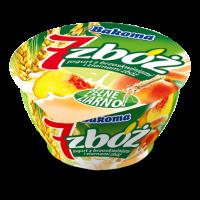 """Йогурт Bakoma """"7 злаков"""" персик, зеленый ячмень и ростки пшеницы (150 г)"""