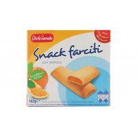 Печенье Dolciando Snack Farciti с апельсином (162 г)