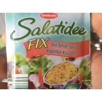 Приправа Delicato Salatidee Fix Paprika-Krauter (5 шт по 8 г)