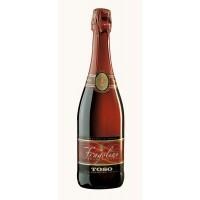 Напиток на основе вина Fragolino Rosso Toso (0.75 л)