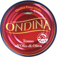 Тунец Ondina all'olio di oliva (80 г)