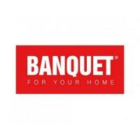 Кружка керамическая Banquet, красно-белая (350 мл)