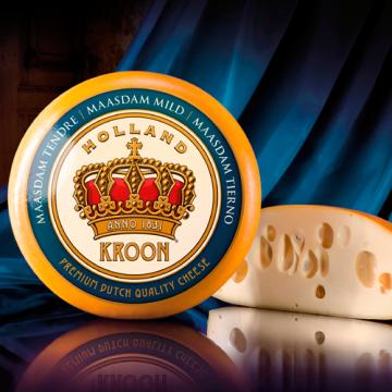 Сыр ТМ Kroon Maasdam, 45%